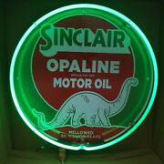 Sinclair Dino Neon Sign / Sinclair Sign / Garage Signs For Men / Gas And Oil