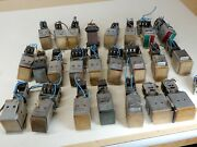 Micro Push Button Panel Switches Microswitch Contacts 2d26 2d101 2d2 Huge Lot