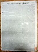 1796 British Newspaper W Detailed French Plan For The Invasion Of Great Britain