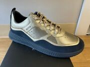 New-menand039s Hugo Boss Low-top Sneakers Color Gold 50440764sizes 8-12 225.00