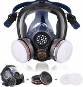 15in 1 Reusable Full Face Respirator Widely Used In Organic Gas,paint Sprayer,