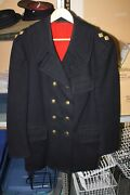 Canadian Military Frontiersmen Wool Dress Jacket W/ Buttons And Badges