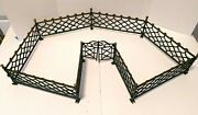 Antique Cast Iron Christmas/doll House Fence