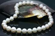 Huge 1812mm Natural South Sea Genuine White Pearl Necklace Good Luster Aaa