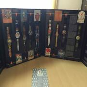Swatch Historical Olympic Games Collection Atlanta Limited Model Set Of 9 Watch