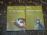 The Great Courses Old Testament And New Terstament, Dvds And Guidebooks 2001, New
