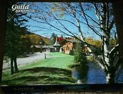 Vtg Country Toll House Jigsaw Puzzle 1500 Pcs Complete Guild  -bkk