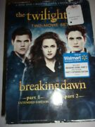 The Twilight Saga Breaking Dawn Part 1 And 2 - 2-disc Set - Very Good Condition