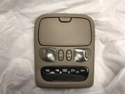 2005 06 Toyota Tundra Limited Overhead Roof Console With Display Garage Door Tan