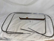 Rare 1937 Ford Cub Cabriolet Exterior Windshield Ss Trim Molding With Clips