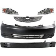 Headlights Lamps Set Of 5 Front For Toyota Camry 2002-2004