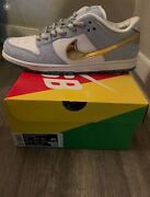 Nike Sb Dunk Low Pro Qs X Sean Cliver Holiday Special Size 11 Dc9936-100