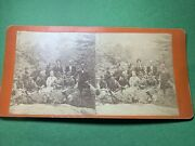 Rare 1878 Black University Singers New Orleans Stereoview Pic File 63