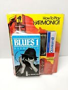 """""""how To Play Harmonica Instantly"""" By Marcos Book, Cassette, Vhs, Harmonica New"""