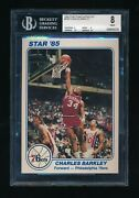 1985 Star Team Supers 5 X 7 Ps8 Charles Barkley Bgs 8 Rookie Year Issue Swsw