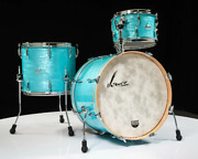 Sonor Vintage Series 3pc 13/16/22 - California Blue With Mount
