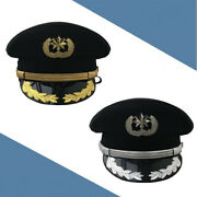 Army Officer Visor Cap Security Guard Hat Army Caps Men Military Police Hat