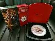 2010 Tiger 1kg Silver Coin Gemstone Edition
