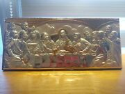 The Last Supper Silver Picture Stamped 925