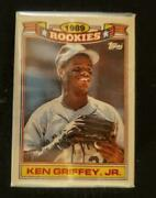 Lot Of 100 1990 Topps Glossy 1989 Rookie Ken Griffey Jr 11 Baseball Cards