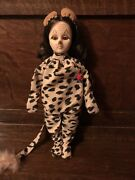 Vintage 1976 Effanbee Cowardly Lion Wizzard Of Oz Doll Complete Outfit