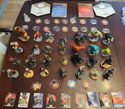 Lot Disney Infinity 28 Figures, 20 Disc, 2 Crystals 2.0, 3.0 Games Ps3 9 Cards