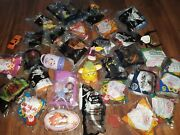 Lot Of 34 Mcdonalds Happy Meal Vintage Toys Furby,doug,eric Carle+more,bag67