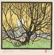 Alfred Joseph Casson Limited Edition Lino-cut Appraised At 4500
