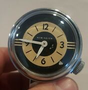 Vintage New Haven Bicycle Motorcycle Mountable Bullet Clock Watch