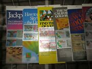 1st 33 California Lotteries 1985-1990 1 Unscratched 1 Scratched 3 Brochures