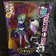 Monster High 13 Wishes Twyla And Dustin Bunny Daughter Of The Boogey Man Doll 2012