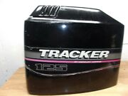 1990s 125 Hp Tracker Pro Series By Mercury Marine Outboard Engine Cover Hood