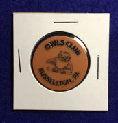 """""""owls Club"""" Russellton, Pa Good For One Draft In Trade, Lot E429"""