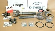 Dana 60 Front Axle Shaft 35 Spline Greasable Conversion Kit Chevy Or Dodge