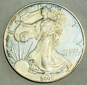 2000-p American Silver Eagle Proof Coin