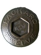 Packard Twelve Center Caps Set Of Four New Old Stock