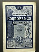 Ravenna Oh Ford Seed Co. / 1901 21st Annual Catalogue Ford Seed Co Tested Flower