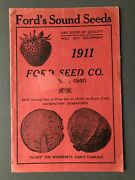 Ford Seed Co / Ford's Sound Seeds 1911 Catalog