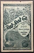 Ford Seed Co / 20th Annual Catalogue 1900 Flower And Fruit Seeds Garden Supplies