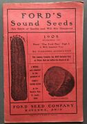 Ford Seed Co / Ford's Sound Seeds 1908 Catalog