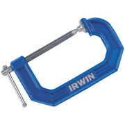 Irwin 2025103 Steel C-clamp 2-1/2 X 2-1/2 D In. For Commercial And Diy Projects