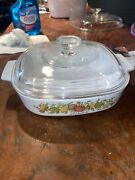 Corning Ware Vintage A-8-b 1.4 L Spice Of Life L Andlsquoechalote