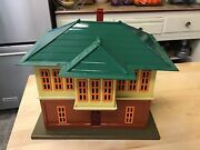 Mth Tinplate Traditions 437 Switch Tower- Mint Condition