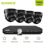 Sannce 8ch 1080n Cctv Dvr 1080p Hd Outdoor Home Night Security Camera System Kit