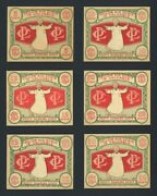 1933 R176 Pulver's Yellow Kid Scrip Cards Near Complete Set 6/7 With 50