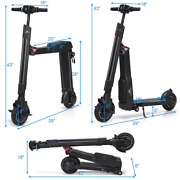 Folding Electric Scooter Led Bluetooth With Removable Seat