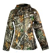 Under Armour Brow Tine Hunting Hoodie Real Tree 1316696-991 Womens Size Large