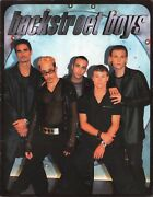 Backstreet Boys 1998 Tour Concert Program Book Booklet With Stickers / Nm 2 Mint