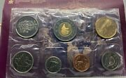 2002 Special Edition Uncirculated Coin Set Golden Jubilee Royal Canadian Mint