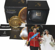 Hardy St. George 3 Lhw Royal Wedding Commemorative Gold Fly Reel, No.015/100...